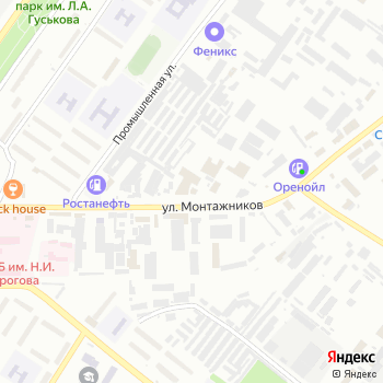 1001 запчасть на Яндекс.Картах