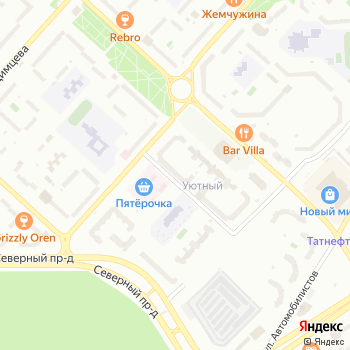 Лист на Яндекс.Картах