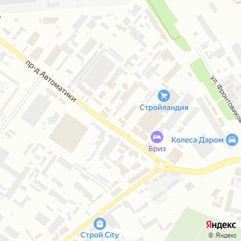 Вариант на Яндекс.Картах