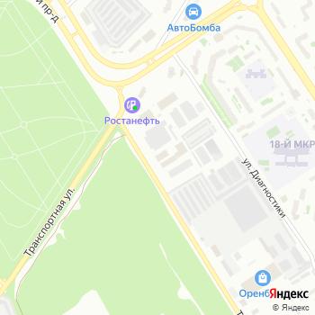Трансформер на Яндекс.Картах