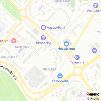 Тонус-Клуб на Яндекс.Картах