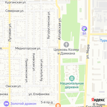 Алтай на Яндекс.Картах
