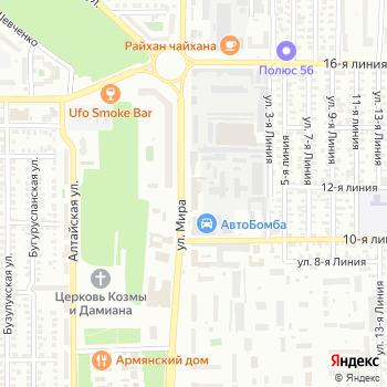 Десятка на Яндекс.Картах