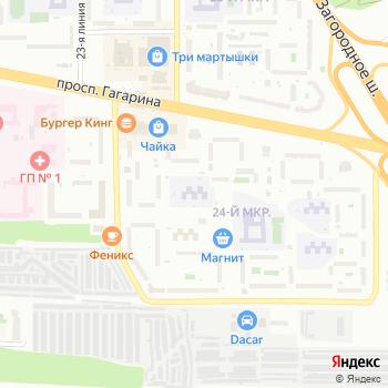 Детский сад №66 на Яндекс.Картах