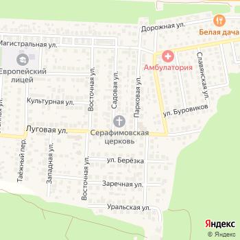 Храм Серафима Саровского на Яндекс.Картах