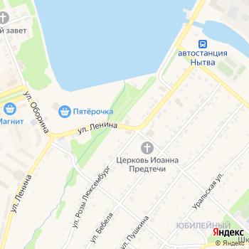 Почта с индексом 617001 на Яндекс.Картах