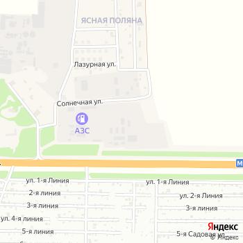 Ареал ВС на Яндекс.Картах