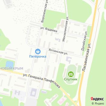 На Ялтинской на Яндекс.Картах