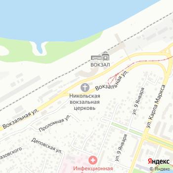 Никольский вокзальный храм на Яндекс.Картах