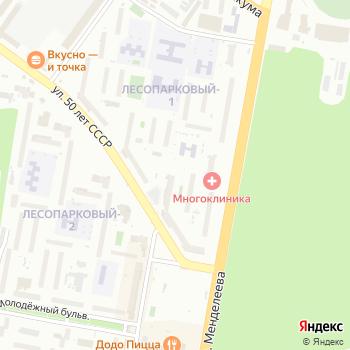 РегионХимСервис на Яндекс.Картах