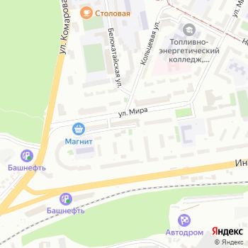 Управление гражданской защиты на Яндекс.Картах