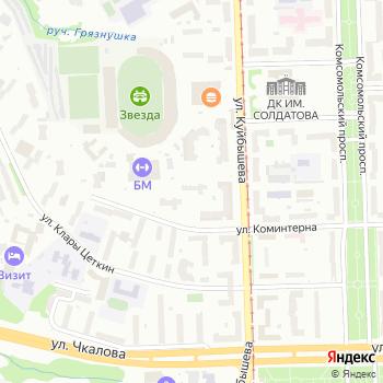 Почта с индексом 614010 на Яндекс.Картах