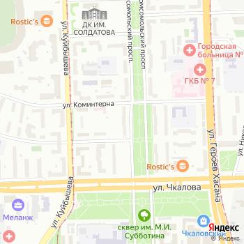 Длинный нос на Яндекс.Картах