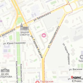 Спасские ворота-М на Яндекс.Картах