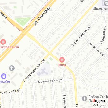 Шиномонтажная мастерская на Самаркандской на Яндекс.Картах