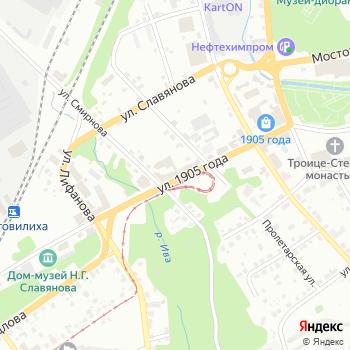 Почта с индексом 614014 на Яндекс.Картах