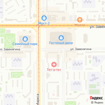 Взгляд на Яндекс.Картах