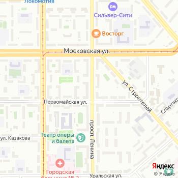 Stock-Микс на Яндекс.Картах