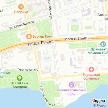 К-студия на Яндекс.Картах