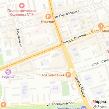 Белая Башня на Яндекс.Картах