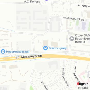 Тойота Центр Екатеринбург Запад на Яндекс.Картах