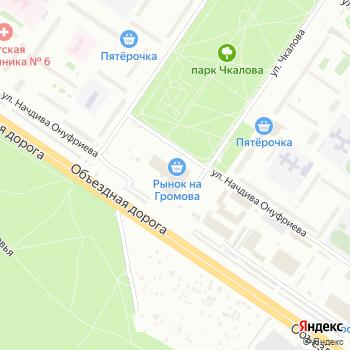 Доставка продуктов на Громова на Яндекс.Картах