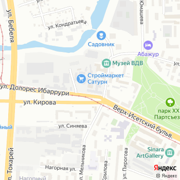 Ника на Яндекс.Картах