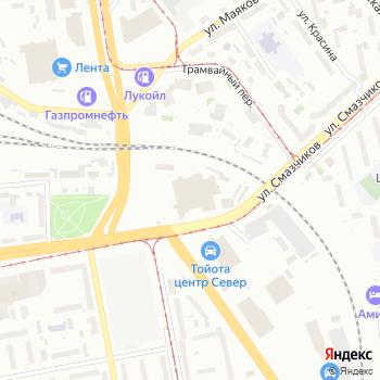 Муниципальное объединение автобусных предприятий на Яндекс.Картах