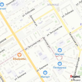Калиновский на Яндекс.Картах