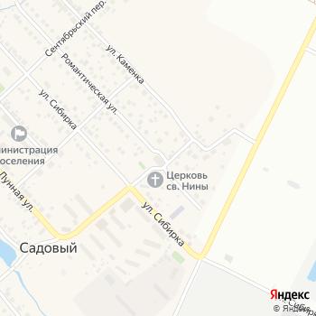 Садовый на Яндекс.Картах