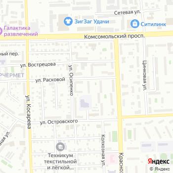Почта с индексом 454106 на Яндекс.Картах