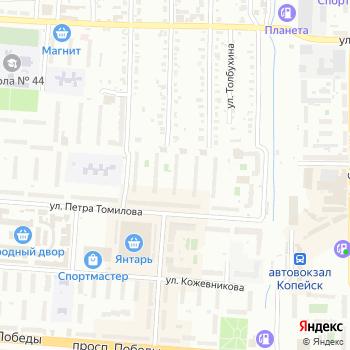 Почта с индексом 456617 на Яндекс.Картах