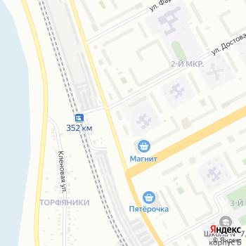 Автостоянка на ул. 2-й микрорайон на Яндекс.Картах