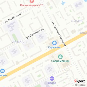 Приход Кирилла и Мефодия на Яндекс.Картах