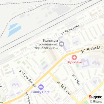 Кокетка на Яндекс.Картах