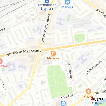 Mix на Яндекс.Картах