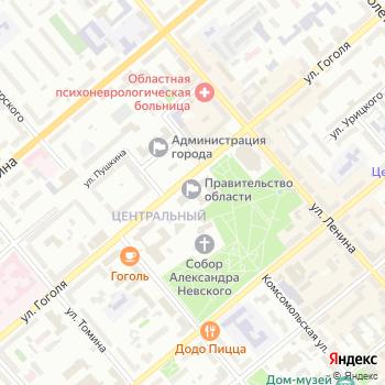 Почта с индексом 640024 на Яндекс.Картах
