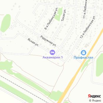 Аквамарин на Яндекс.Картах