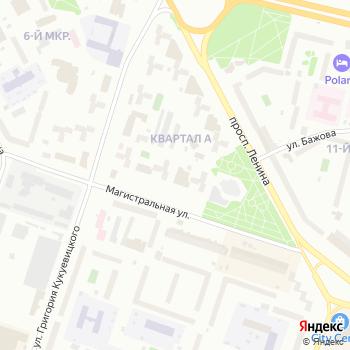 АКВАТОРИЯ на Яндекс.Картах