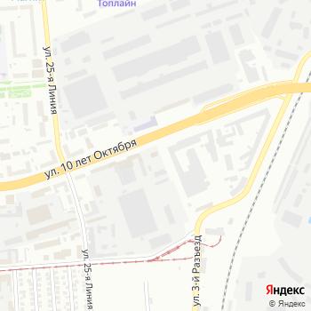 Аварийно-диспетчерская служба наружного освещения на Яндекс.Картах