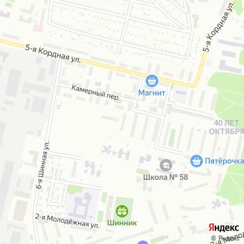 Дюма-Студия на Яндекс.Картах