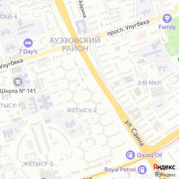 Жетысу на Яндекс.Картах