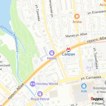 АЗС Гелиос на Яндекс.Картах