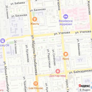 Радуга на Яндекс.Картах