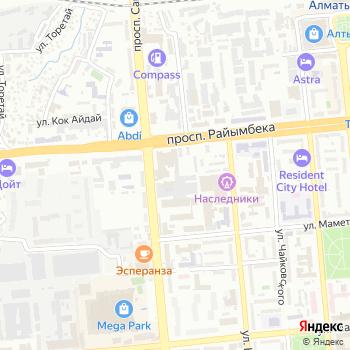 Южный город на Яндекс.Картах