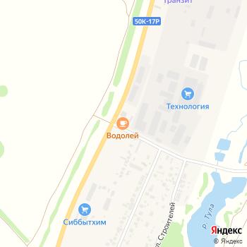 Водолей на Яндекс.Картах