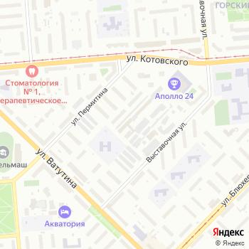 Аллея на Яндекс.Картах