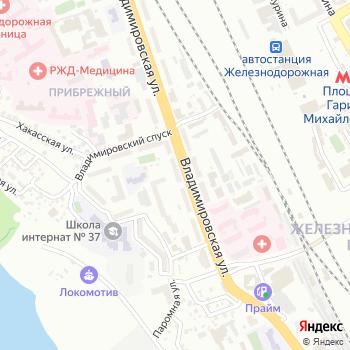 Почта с индексом 630003 на Яндекс.Картах