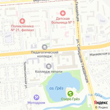 FabricIn на Яндекс.Картах