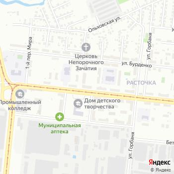 Почта с индексом 630024 на Яндекс.Картах